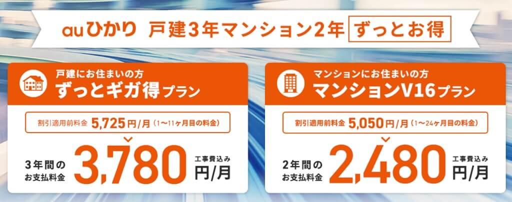 auひかり So-net トップ